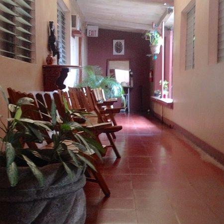 San Marcos, Nikaragua: Cómodas áreas de estar