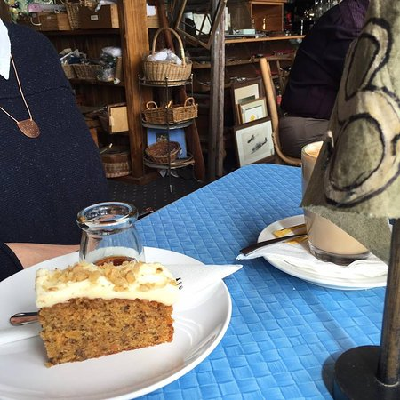 St Helens, Austrália: Carrot Cake with Maple Syrup