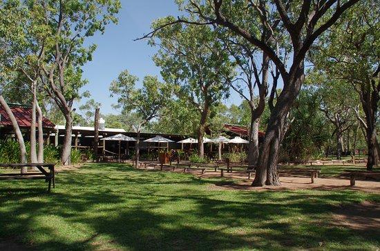 Kununurra, Australien: The reception area of the resort.