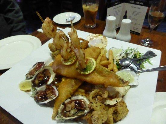 Victor Harbour, Australien: Famouis Seafood Platter