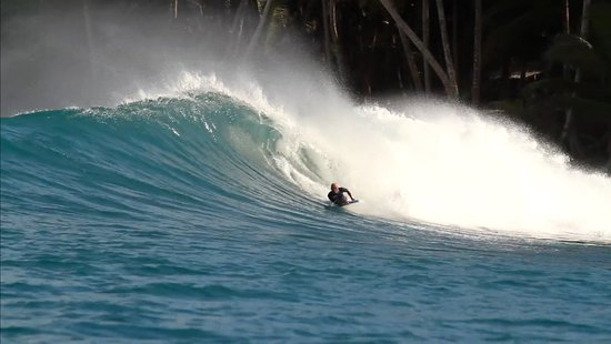 Newquay, UK: Fast and barrelling!