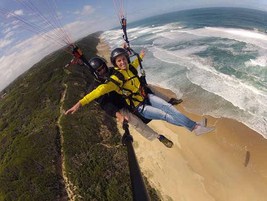 Garden Route Paragliding in Wilderness