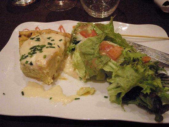 Joigny, Francia: Tarte au Chaource