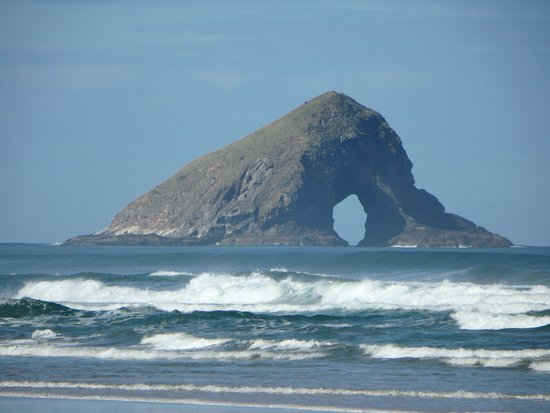 Kaitaia, Nouvelle-Zélande : Hole in the Rock 90 Mile Beach