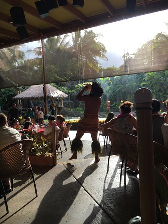 Laie, HI: The show at the luau