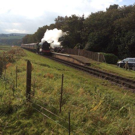 Bury, UK: Flying Scotsman at Irwell Vale