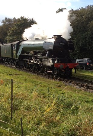 Bury, UK: Flying Scotsman back in the North West