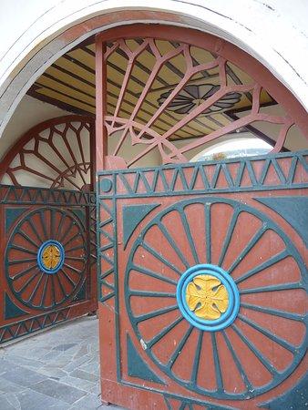 Bakhchisaray: Входные ворота дворца