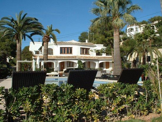 Benissa, Spain: notre logement privilégié avec vue sur piscine et méditerranée