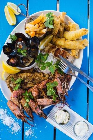 Fusion Restaurant: Seafood Platter