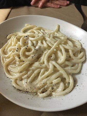 Montefollonico, Italien: Il buon mangiare toscano....