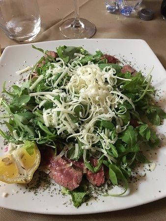 Montefollonico, Itália: Il buon mangiare toscano....