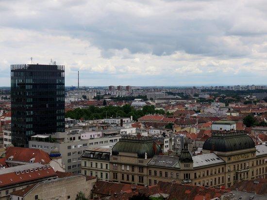 Lotrščak Tower: Zagabria dall'alto