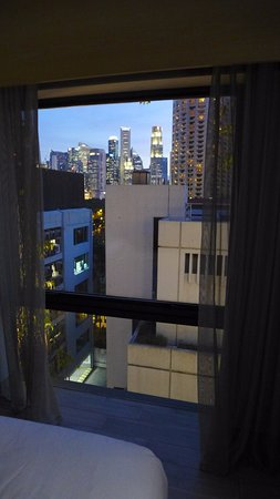 Naumi Hotel: City view, chambre habitat