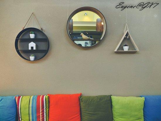 Myrtleford, Australien: Cafe interior