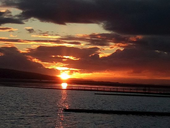 West Kirby, UK: sunset at West Kirby