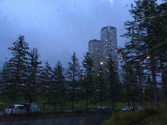 Shimukappu-mura, Japan: 雨で残念でした