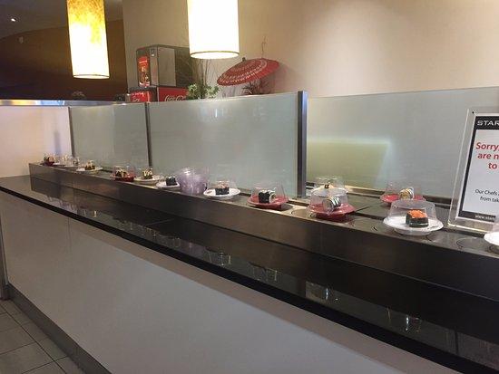 กอสเฟิร์ด, ออสเตรเลีย: Sushi train