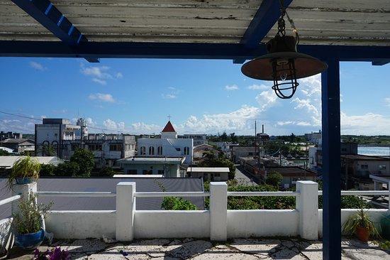 Oshima-gun Yoron-cho, Japão: 茶町の市街地を一望できます