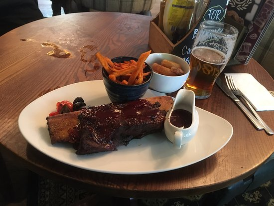 Wickford, UK: Long Beef Rib - by Bob the Brit