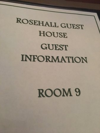 Rosehall Guest House: photo0.jpg