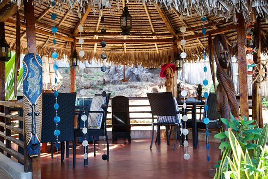 Ambatoloaka, Madagascar: Spazi all'aperto