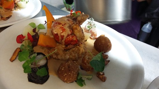 Locronan, Prancis: homard