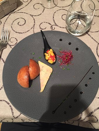 Lagord, France : Une partie des plats du menu dégustation
