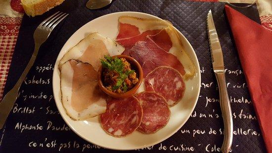 Lure, Francia: Assiette corse