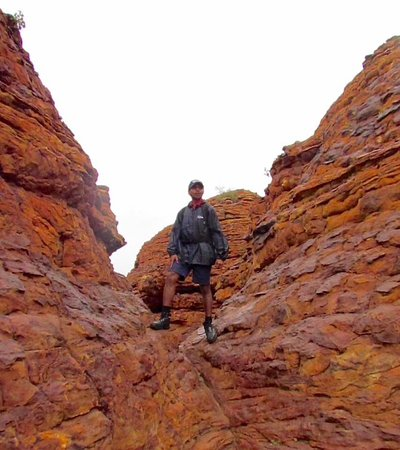 Yulara, Australien: Alwin, our guide