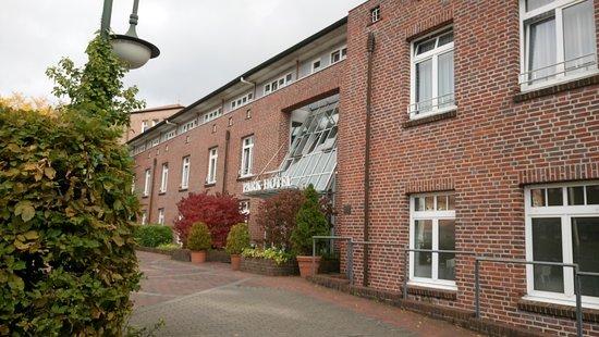Norderstedt, Germania: Indgangen fra P-pladsen