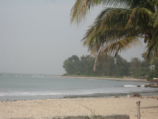 A peaceful morning on Kotu Beach