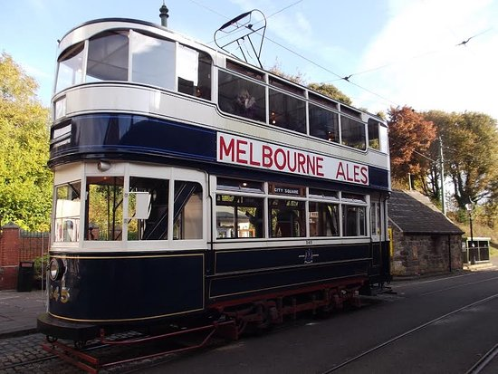 Matlock, UK: One of the trams running the day we were there