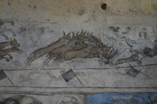 Azraq, Jordan: Scène de chasse