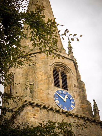Машам, UK: Church Clock