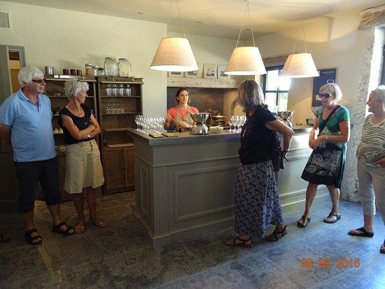 Orgon, Frankrijk: Indtryk fra butikken