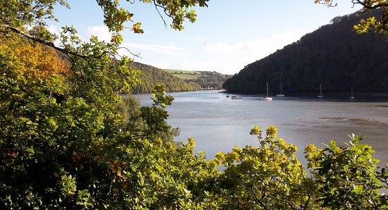 Dittisham, UK: View of the River Dart