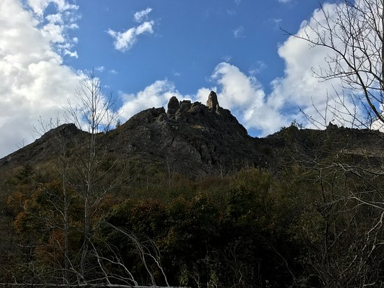 Sobetsu-cho, Japón: The formation from eruptions