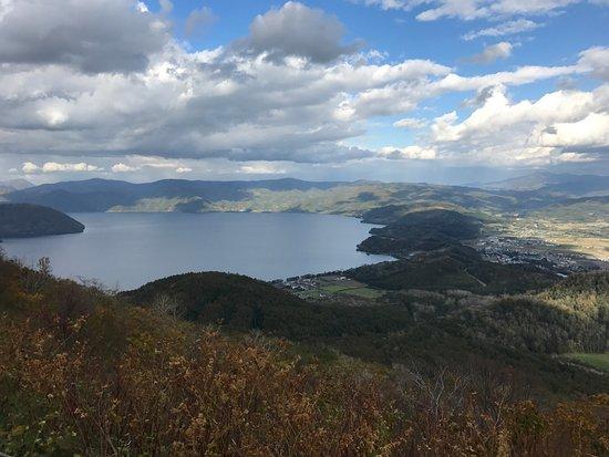 Sobetsu-cho, Japón: Seeing the whole of Lake Toya