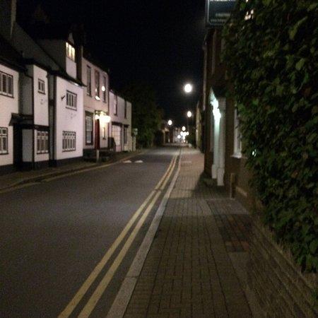 Sunbury, UK: street outside