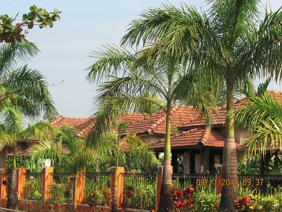 Makara Village: Front View