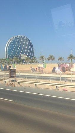 aldar hq building vista del edificio