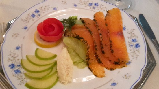 La Caracola: salmone marinato