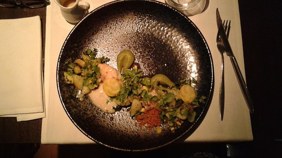 Lier, Bélgica: dish with fish