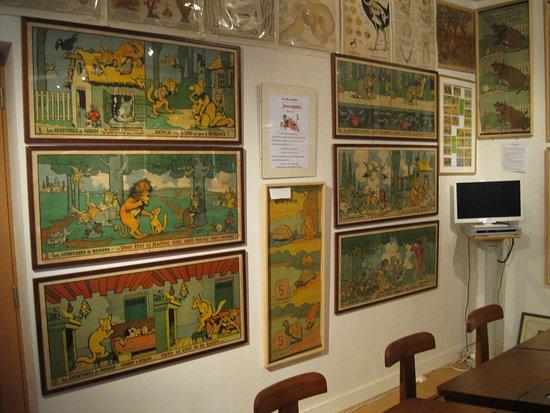 Musee des Arts, Metiers Et Commerces: dessine par le dessinateur de la vache qui rit,rabier