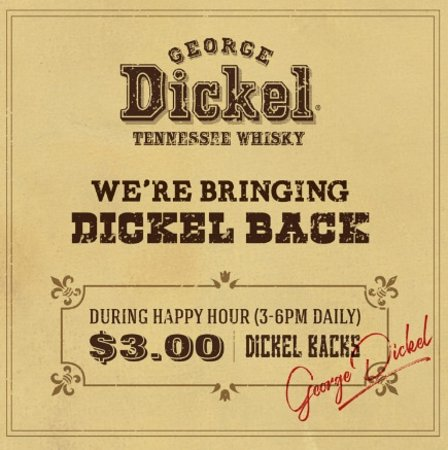 Surrey, Canada: We're Bringing Dickel Back