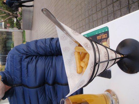 Santiago Metropolitan Region, Chili: fritas crocantes