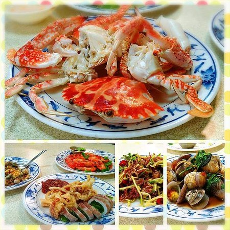 Bo rong mei shi local seafood restaurant xinbei for Local fish restaurants