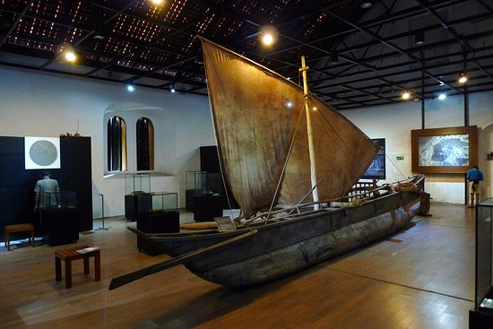 Maritime Archeology Museum: Typisches historisches Fischerboot