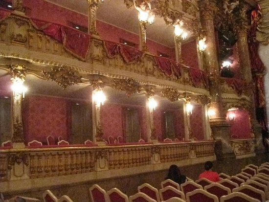 Cuvilliestheater (Altes Residenztheater): Cuvilliéstheater - Innenraum - Logen